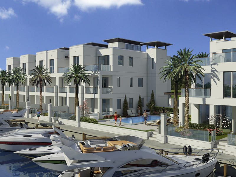 SkY230 Waterfront Townhomes