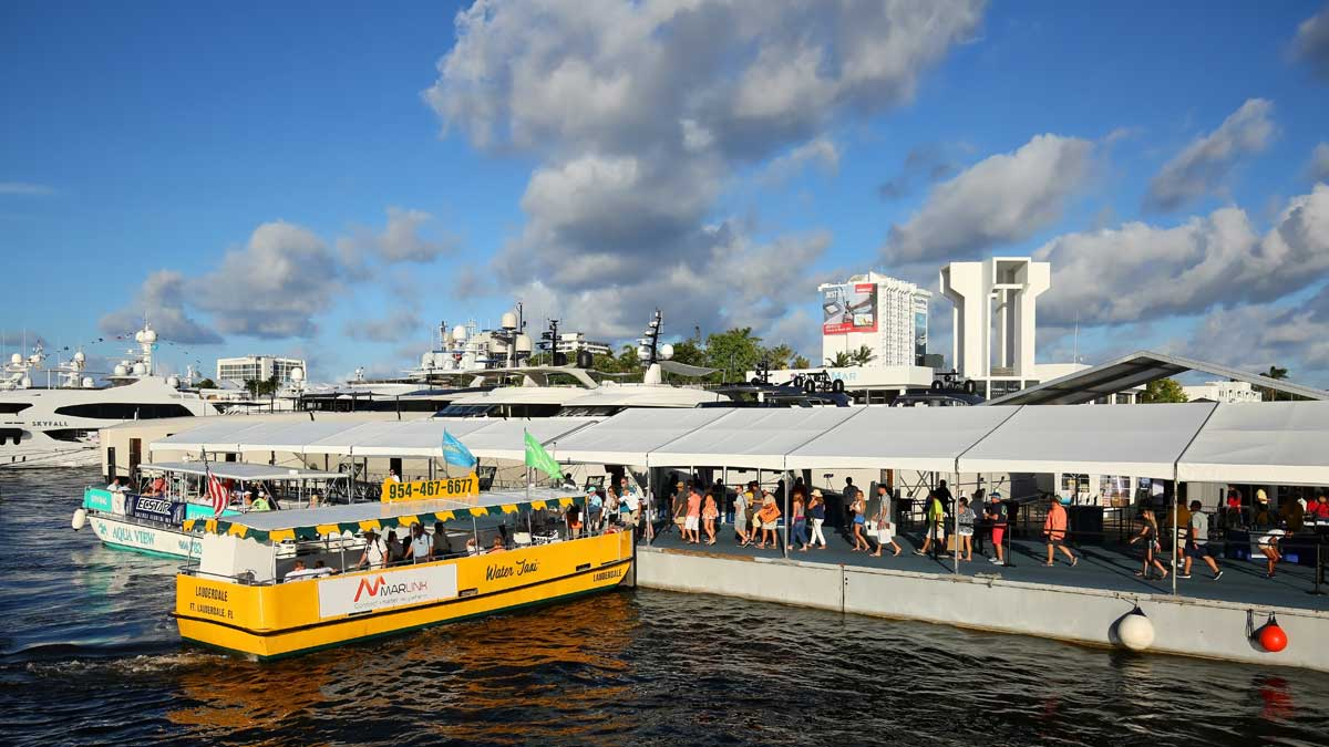 Water Taxi Boat Show