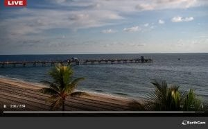 Lauderdale-by-the-Sea Windjammer Beach Cam