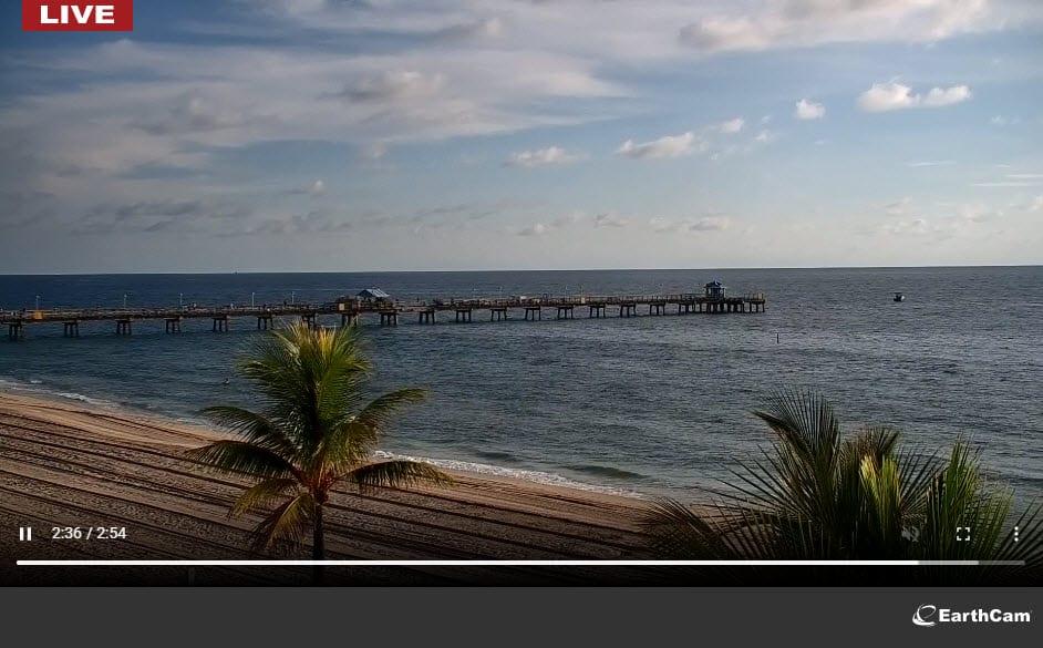 Lauderdale-by-the-Sea Windjammer Beach Cam