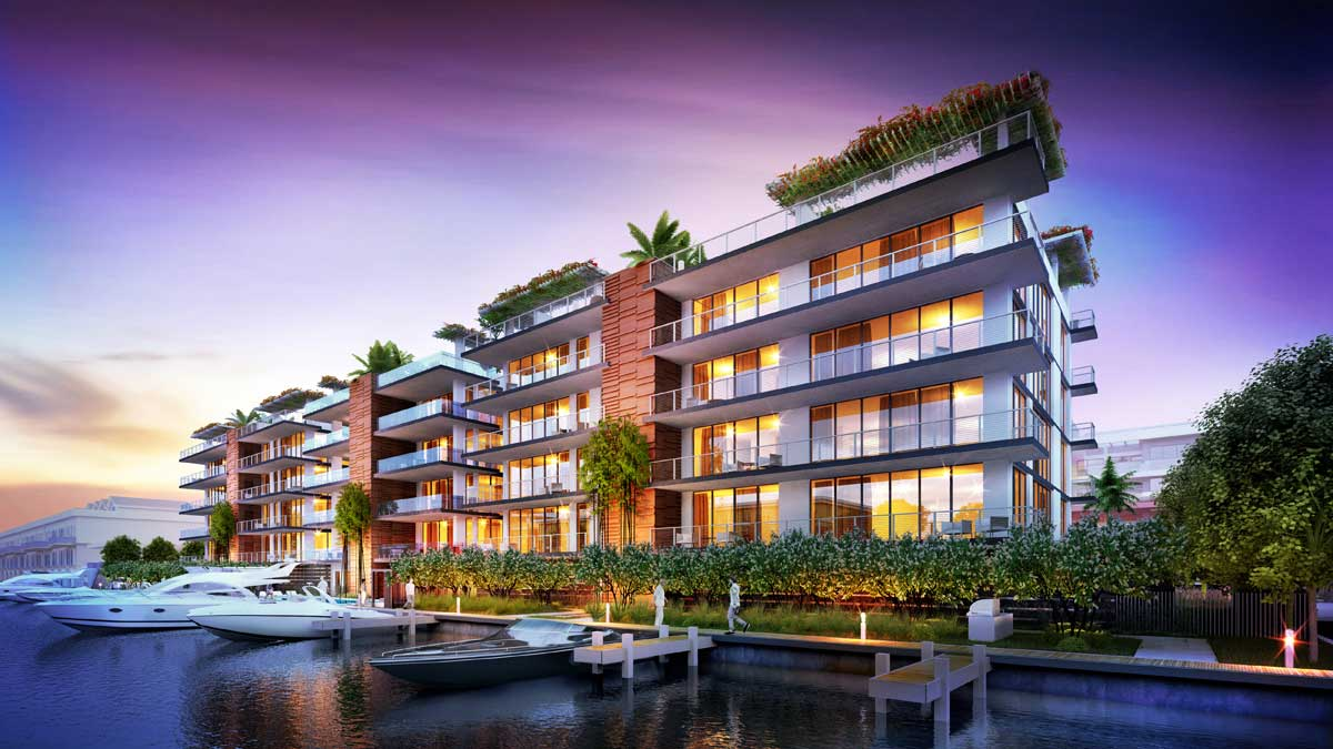 Condos with boat slips
