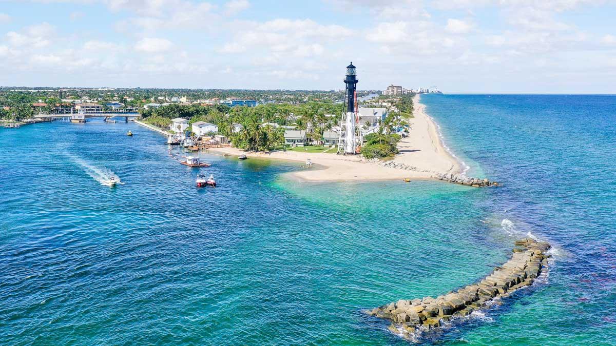 Hillsboro Inlet Hillsboro Beach Florida