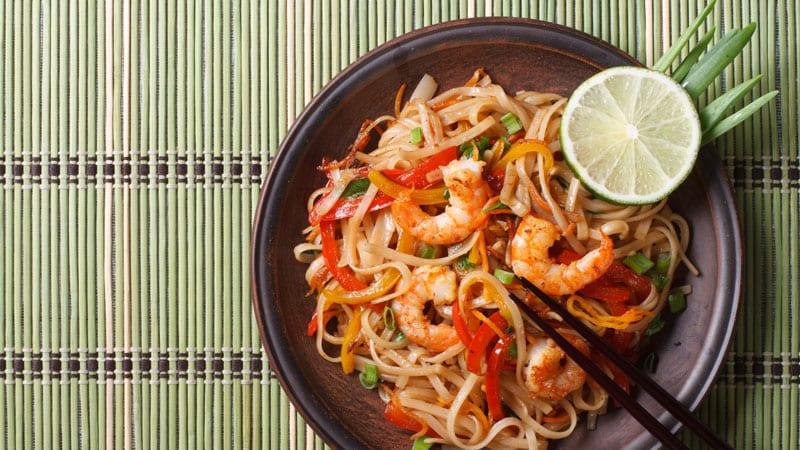 Pad Thai with Florida Shrimp