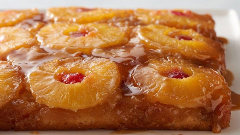 Margarita Pineapple Upside Down Cake