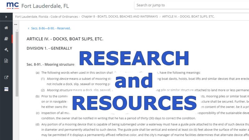 South Florida Boating Resources