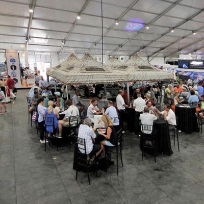 Superyacht Tent Tiki