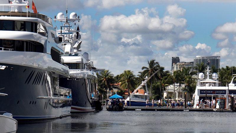 Fort Lauderdale Mega Yachts